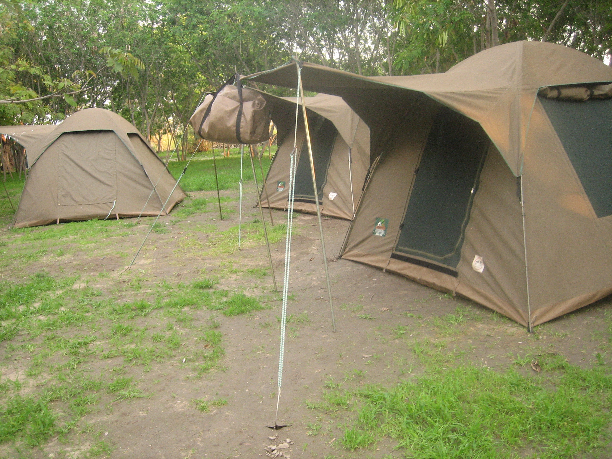 Budget C&ing Safari. Duration 4 Days & Snowcap Tanzania Tours » Budget Camping Safari